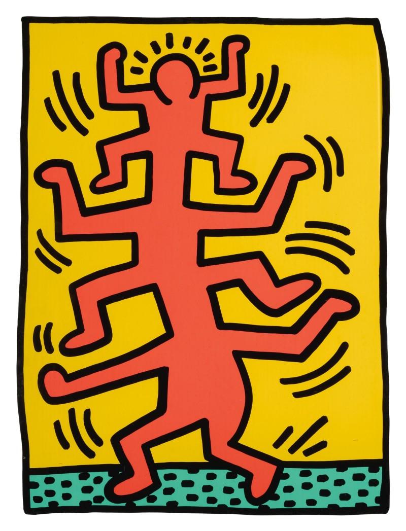 Keith Haring - Growing 1 (1988)