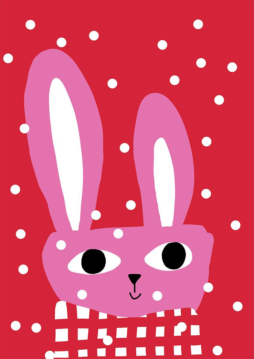 Nuppita Pittman - Conejo rosa