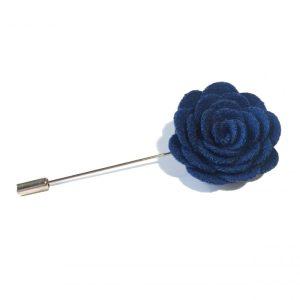 Lapel flower kompakt blå