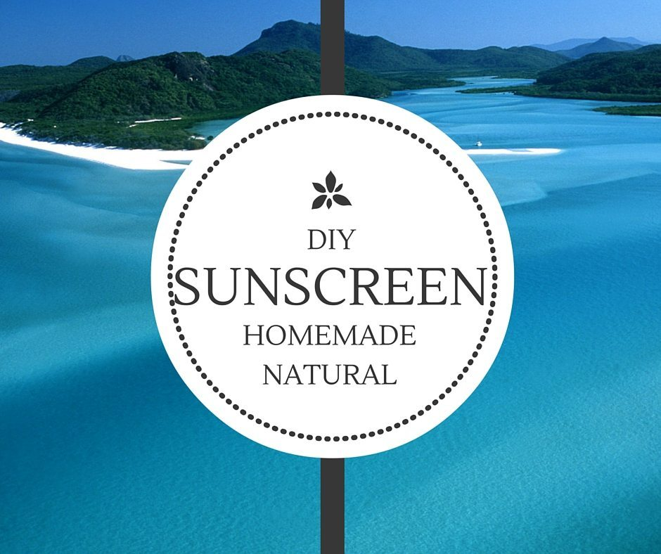 DIY Natural Homemade Sunscreen 1