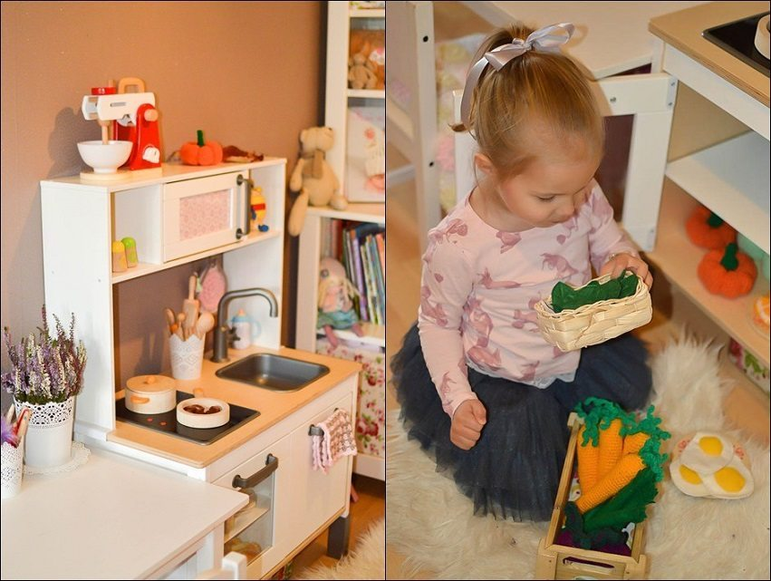 Play kitchen and Pretend Food 1