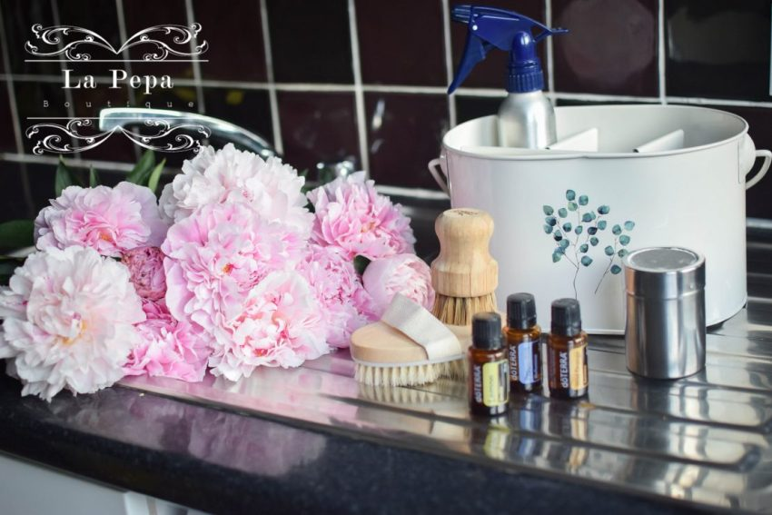 Eco Home | Cleaning Home with Soda, Vinegar and Essential Oils