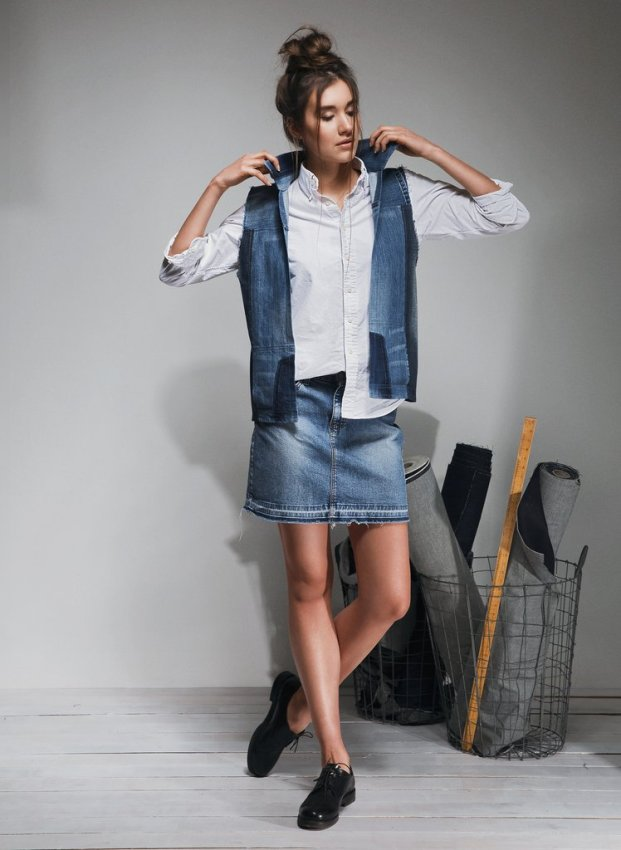 Eco Chat | Yours Again Upcycled Denim Fashion 1