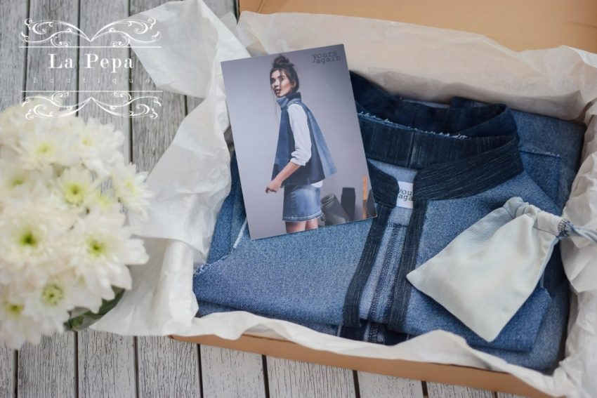 Eco Style | Yours Again Upcycled Denim Vests