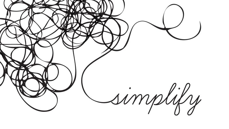 Simplicity | Things We Can Do Without