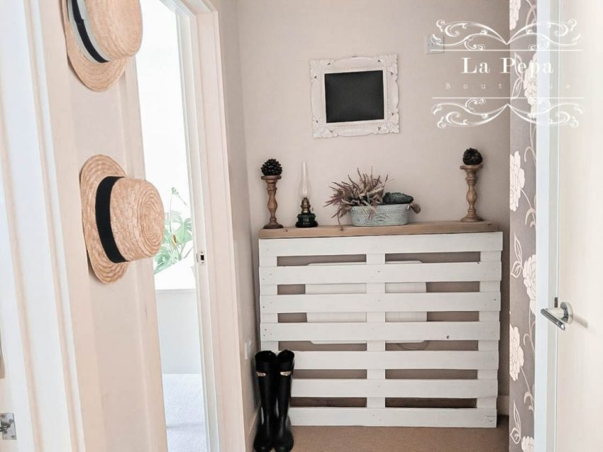 Upcycle   Simple Pallet Radiator Cover