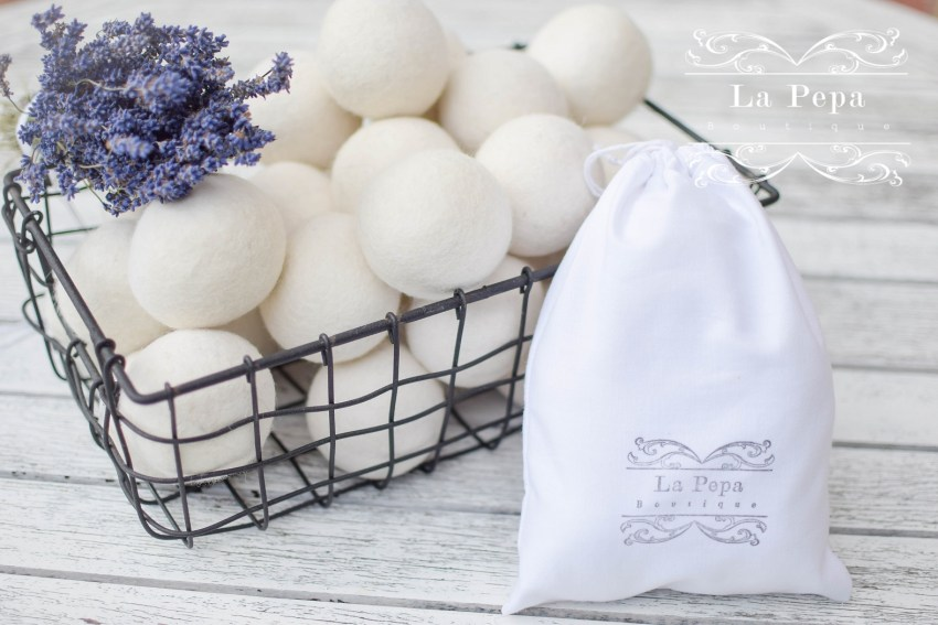 Eco Chic | Set of 5 Eco Friendly Wool Dryer Balls