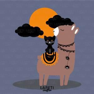 ilustracion llama