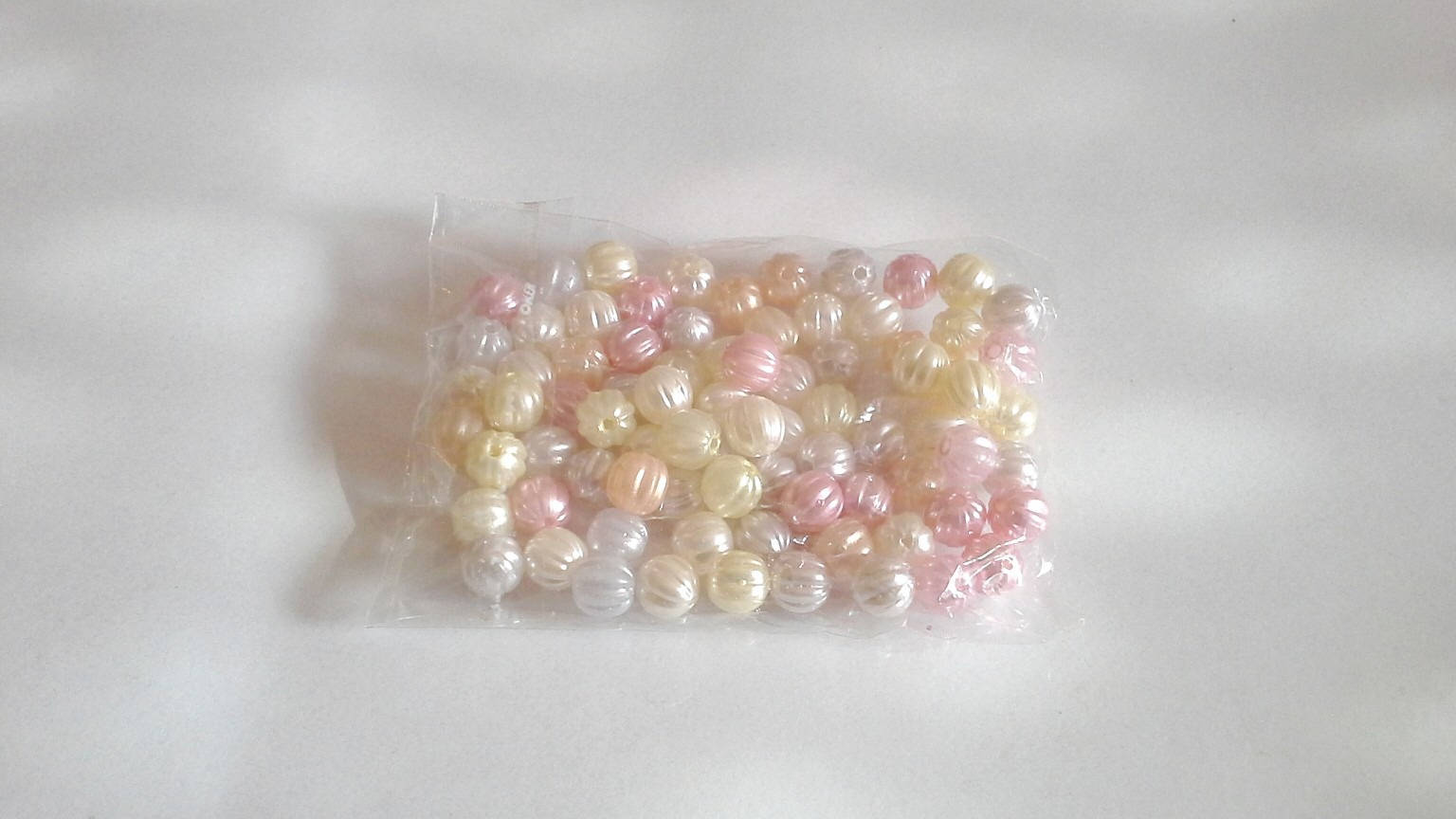 Perles lanterne nacrées 8 mm