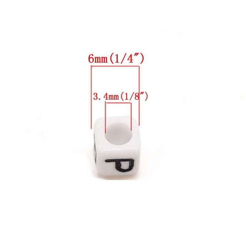 perle alphabet cube 6 mm