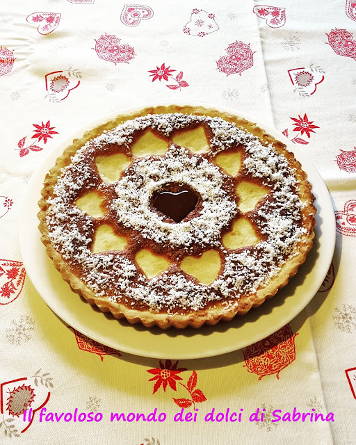 Crostata al cocco e cioccolato bianco