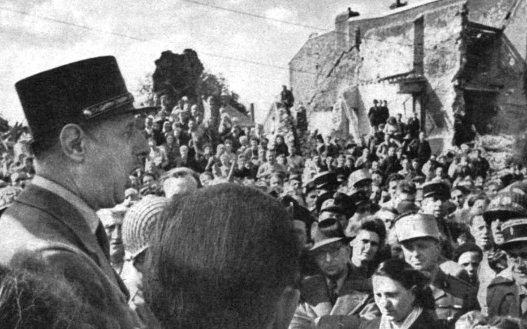 Le Général de Gaulle à Isigny-sur-Mer