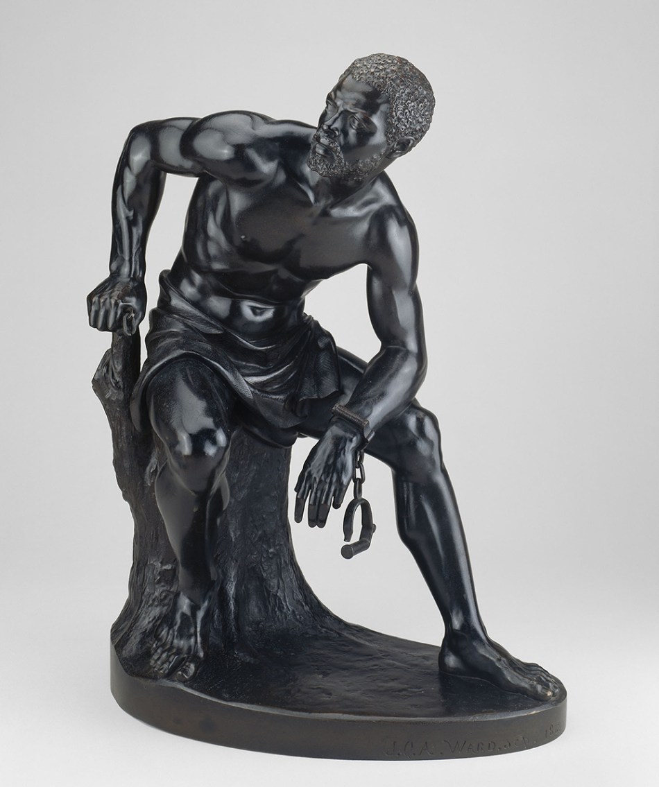 The Freedman, by John Quincy Adams Ward, c. 1862. The Art Institute of Chicago, Roger McCormick Endowment.