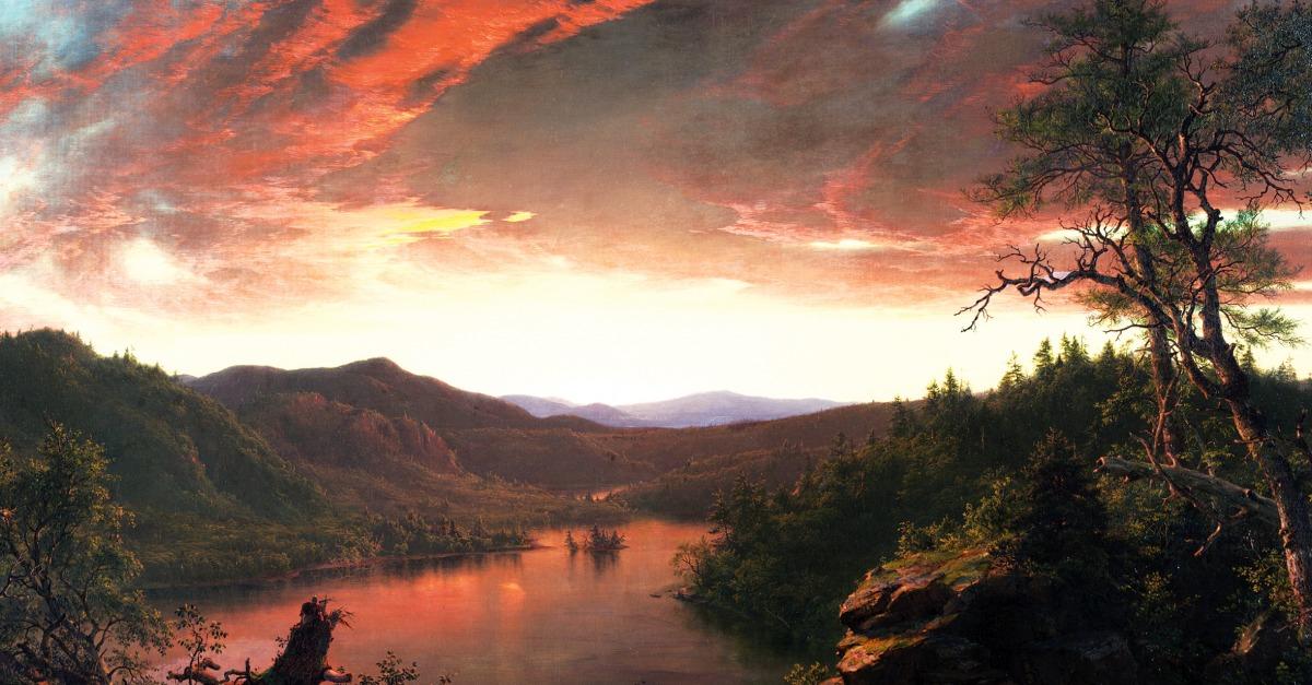 Nature Twilight In The Wilderness Lapham S Quarterly