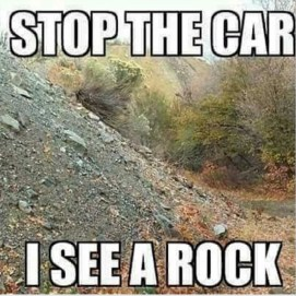 Image result for meme about rocks