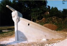 La Préfiguration - Bateau de l'atelier de taille de pierre