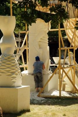 Environnement sculpturale pour Aurélie