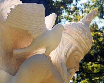 07-09-2015 la déesse Morrigan veille sur la mort de Cuchulaïnn