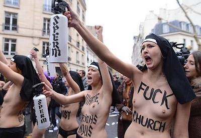 Femen, des slogans d'une tolérance évidente