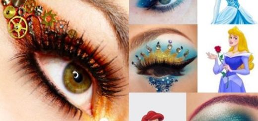 Maquillajes estilo disney