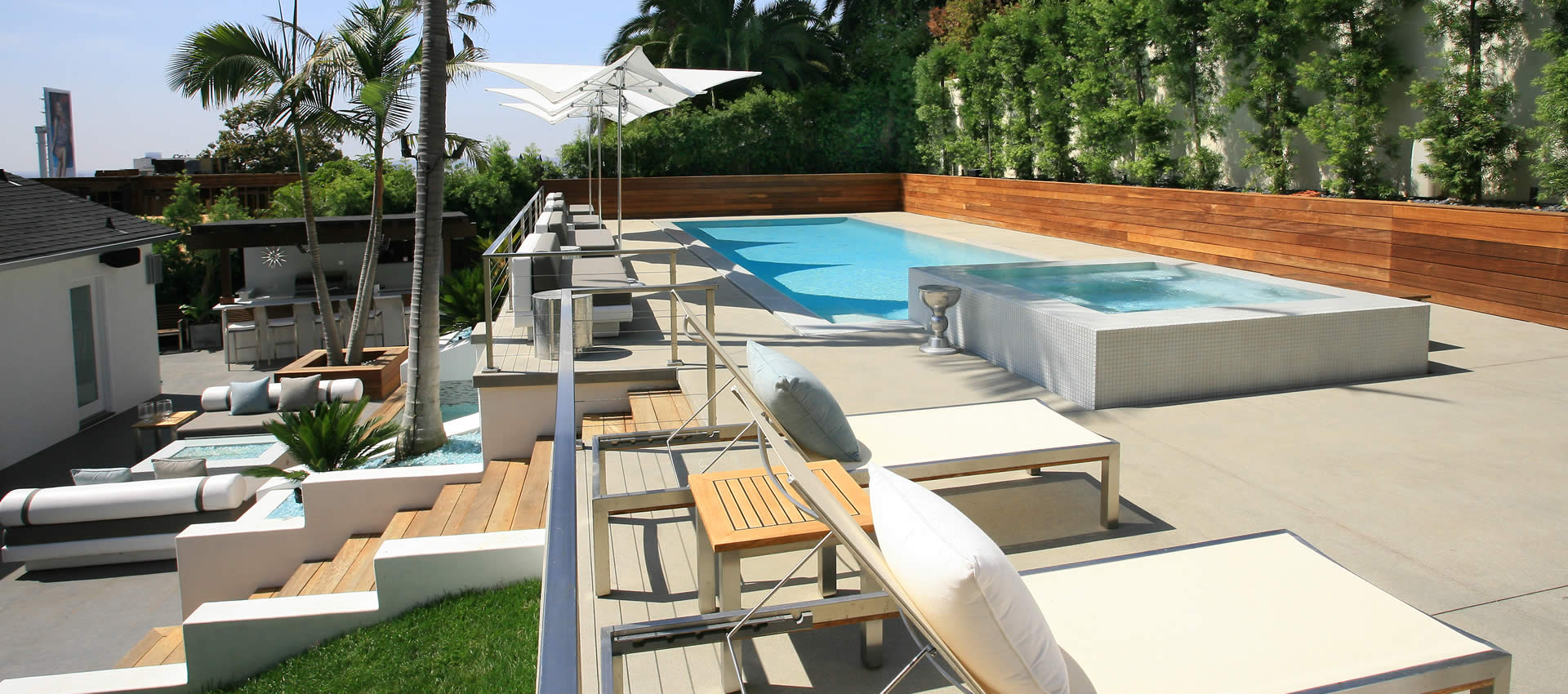 Los Angeles Pool Builders Southern California Swimming ... on Southern Pools And Outdoor Living id=58965