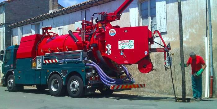 hydrocurage de réseaux de canalisations
