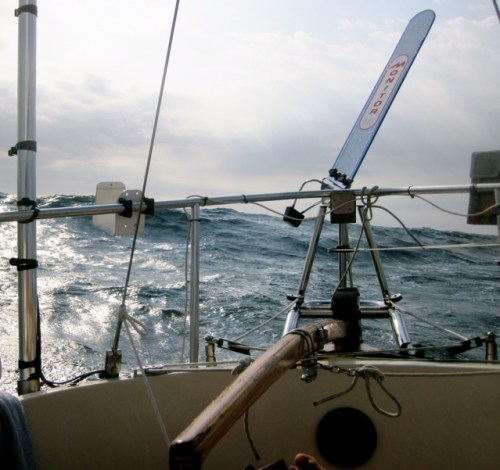 Monitor Windvane back on duty