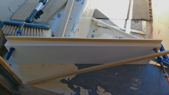 Mold construction for Fiberglass channels