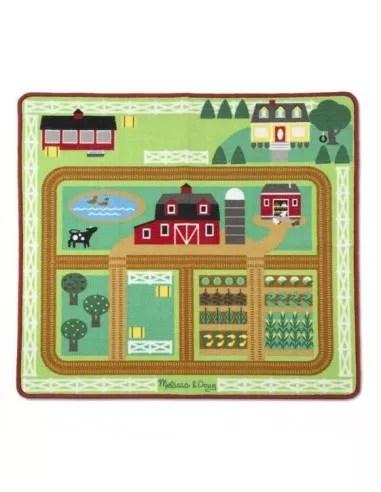 tapis de jeu de la ferme melissa doug