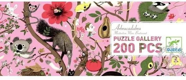 Puzzle Gallery Abracadabra 200 pièces - Djeco