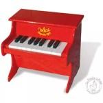 piano vilac en bois massif 18 touches