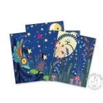 Cartes à gratter Pleine lune - Djeco