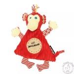 Doudou Bogos - Les Déglingos - Doudou rouge enfant