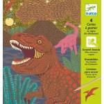 Cartes à gratter dinosaures - Djeco