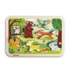 Puzzle animaux forêt - Janod
