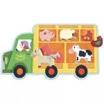 Encastrement camion ferme - Vilac