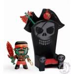 Figurine Kyle & Ze trone pirate Arty Toys - Djeco