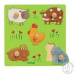 Puzzle animaux de la ferme - Djeco
