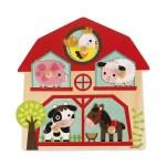 Puzzle musical animaux de la ferme - Janod
