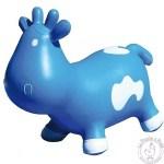 Betsy la vache sauteuse bleue - Ballon sauteur