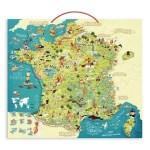 Carte de France magnétique - Vilac