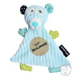 Doudou illicos ours polaire - Les Déglingos - Doudou bleu