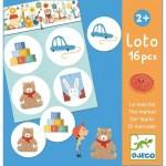 Loto du marché 16 pièces - Djeco