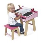 Bureau rose pour fille - Mobilier chambre
