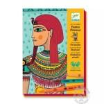Dessin et coloriage Art égyptien pour ado