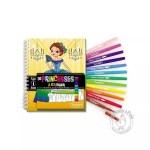 Kit de coloriage pour enfant avec feutres pinceaux