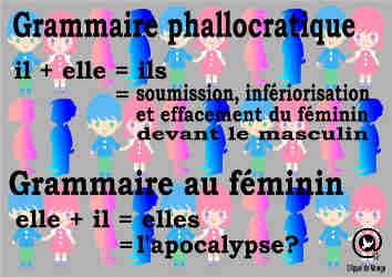 Grammaire au féminin