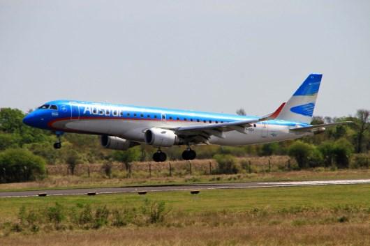 Aerolíneas inauguró un nuevo servicio entre la ciudad de Córdoba y Resistencia