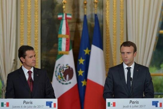 Déclaration conjointe d'Emmanuel MACRON et de Peña NIETO à l'Élysée ! Jeudi 6 juillet 2017