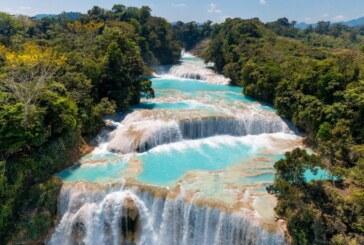 Les célèbres cascades d'Agua Azul asséchées et privées d'eau turquoise !